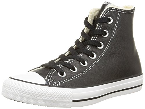 Converse Damen Ct Shear Lea Hi Low-top, Schwarz (Noir/Blanc) 38 EU