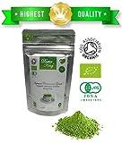 Dottore Re (Doctor King®) Migliori grado cerimoniale organico matcha Tè verde giapponese - Il grado superiore: cerimoniale grado AAA - Peso netto trenta grammi (30 g)