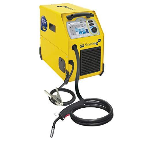 GYS - Smartmig 142 - Poste à Souder - Traditionnel - MIG/MAG - Ø 0, 6/0, 8/0, 9 mm - 230V - Livré avec cables de masse et Torche (2.2m)