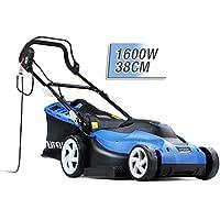 """Hyundai HYM3800E Corded Electric Lawnmower 1600W 380mm/ 38cm /15"""" Cutting Width"""