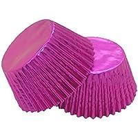 12 excelente calidad para magdalenas/Cupcake Foil casos por Holly Cupcakes: rosa
