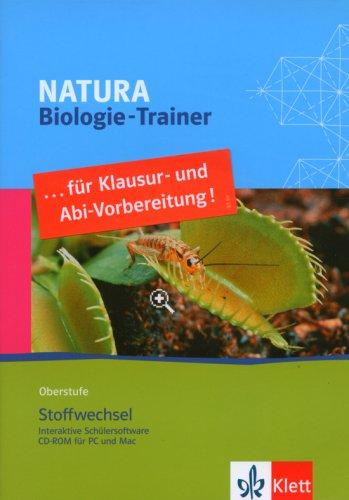 Natura Biologie-Trainer Oberstufe. Stoffwechsel. CD-ROM ab Windows 2000/XP oder ab Mac G4