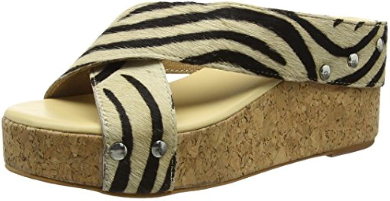 TANTRA - Leather Espadrille Wedge Sandals Animal Print, Sandali Donna Donna Donna   Varietà Grande    Maschio/Ragazze Scarpa  896f18