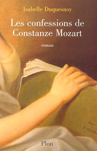 Les Confessions de Constanze Mozart par Isabelle Duquesnoy