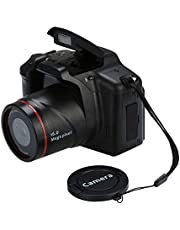 Faironly 16MP HD 1080P 2.4 Inch TFT Screen Anti-Shake Digital SLR Camera with Built-in Microphone