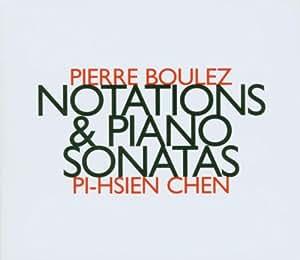 Boulez - Notations. Piano Sonatas Nos 1 - 3