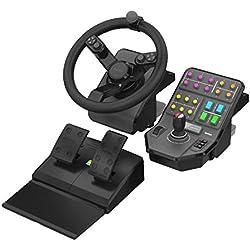Logitech G Farming Simulator, ensemble pour engins agricoles (rotation à 900 degrés, volant programmable)