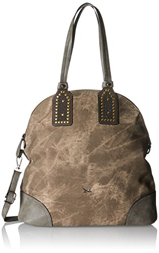 Sansibar - Shopper Bag, Borse a secchiello Donna Marrone (Mud)