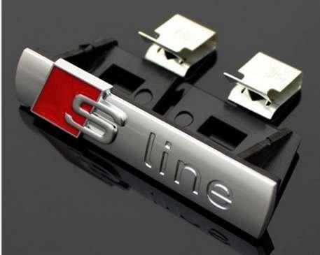 Auto-Emblem für Kühlergrill, S-Line