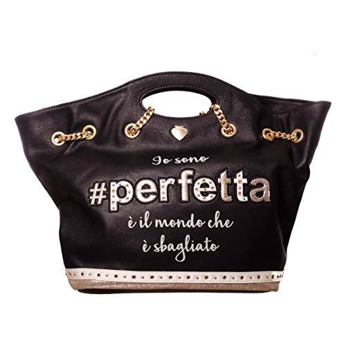 Donna Ai18dbz0226901 Perfetta Borsa Black Pandorine Bag Hobo Le FYAEqAw