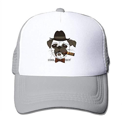 Wdskbg Cool Guy Print Adjustable Trucker Sun Hats Mesh Sports Baseball Caps Design24 (Sexy Guy Kostüme)