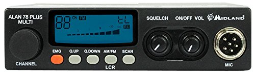 CB radio Alan 78 plus multi AM / FM