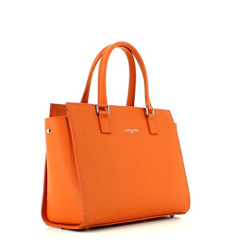 Lancaster Adele Sac à main cuir 31 cm Orange