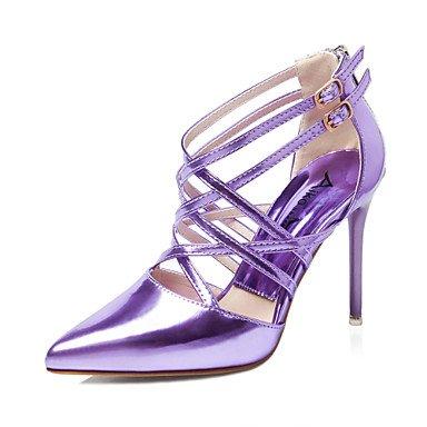Zormey Women'S Shoes Stiletto Heel Heels/Spitze Zehe/Closed Toe Pumps/Fersen Kleid Schwarz/Gr¨¹n/Lila/Silber/Gold/Champagner Golden
