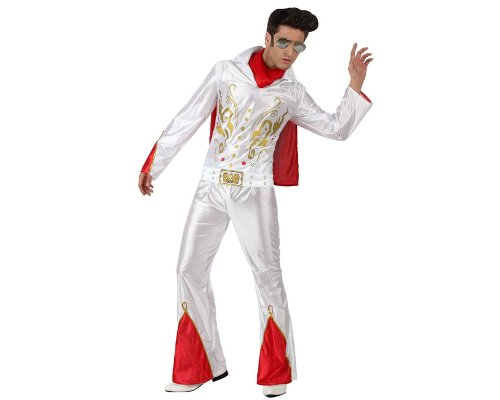 ATOSA 11818 - Elvis Kostüm, Größe XL, -