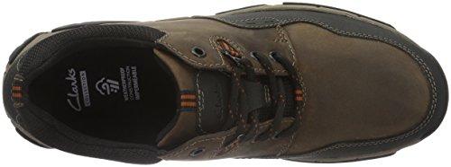 Clarks Walbeck Edge, Sneakers Homme Marron (Brown Weather Proof)