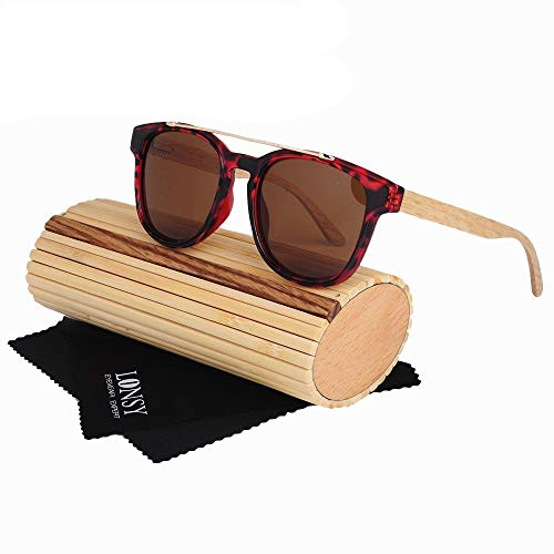 GSSTYJ Sport-Sonnenbrille, polarisierte Brille für Mann Frauen Radfahren Laufen Angeln Golf Baseball Fahren Kletterausrüstung/als Geschenke für Freunde und Verwandte (Color : Tortoise Shell+Tea)