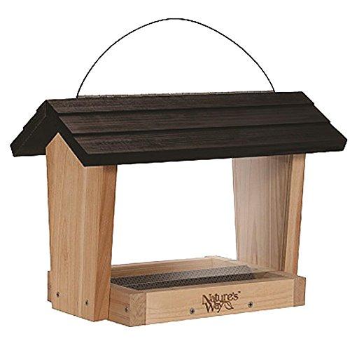Nature 's Way Vogel Produkte cwf18Cedar Hopper Bird Feeder, 6-quart -
