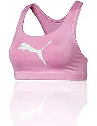 Puma 4Keeps Bra M Sujetador Deportivo, Mujer, Rosa (Pale Pink), Talla