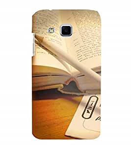 Fuson Designer Back Case Cover for Samsung Galaxy J3 (6) (book reading knowledge learn learning)