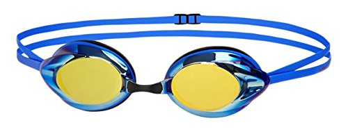 speedo-opal-mirror-gafas-de-natacion-unisex-ninos-azul-blue-gold-talla-unica