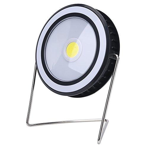 vbestlife Tragbare Outdoor Solar Camping Lampe COB Zelt Laterne Notlicht Desktop Lampe