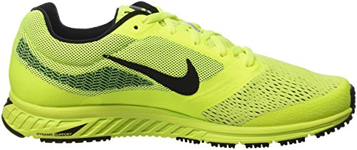 Nike Air Zoom Fly 2, Chaussures de Sport Homme multicolore (Volt/Black-Green Strike)