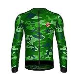 Uglyfrog Radtrikot Winter Thermo Fleece Herren Langarm Fahrradtrikot Warm Fahrradbekleidung/Bib Lange Hosen Anzug
