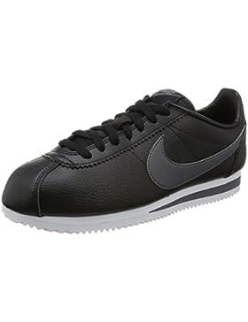 Nike Herren Classic Cortez Leather Laufschuhe, Weiß, 44 EU
