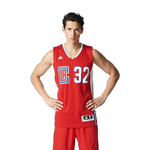 adidas Herren International Swingman Trikot, La Clippers, L