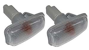 AERZETIX: 2 Clignotants latéraux répétiteurs pour auto voiture