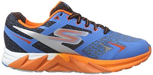 Skechers GO Run Forza, Chaussures de course homme bleu (BLOR)