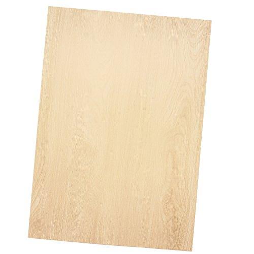 TATMOTIVE 01-0125-0090-00075 Edles Briefpapier MADEIRA Holz - 75 Blatt - Beidseitig bedrucktes Papier, 90 g/qm DIN A4 297 x 210 mm