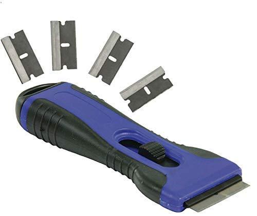 Rascador para vitrocerámica universal Eurosell Premium / limpiador ergonómico, rasqueta  limpiadora...