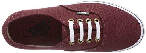 Vans - U Authentic (Rivet) Andorra, Sneaker basse Unisex – Adulto Rosso (Rot (Rivet) Andorra EWS))