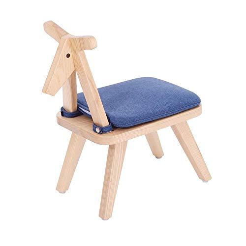 Zapateros Taburetes de bar |Silla con asiento de madera 4 Patas heces de los niños o de los niños...