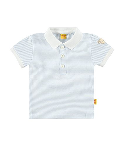 Steiff Collection Jungen, Poloshirt, Poloshirt 1/8 Arm, Blau (baby Blue 3023), 74