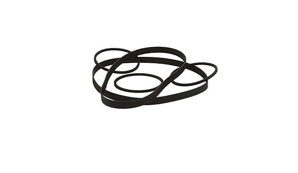 Thakker TC-WR 590 Riemen-Set kompatibel mit Sony TC-WR 590 Riemen-Set Kassettendeck Belt