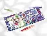 Totum PJ Masks Sprühstiftkunstwerke Kreativ-Set: Verschiedene Sprühstifte, Schablonen, 1 Malblock und Stickerbogen