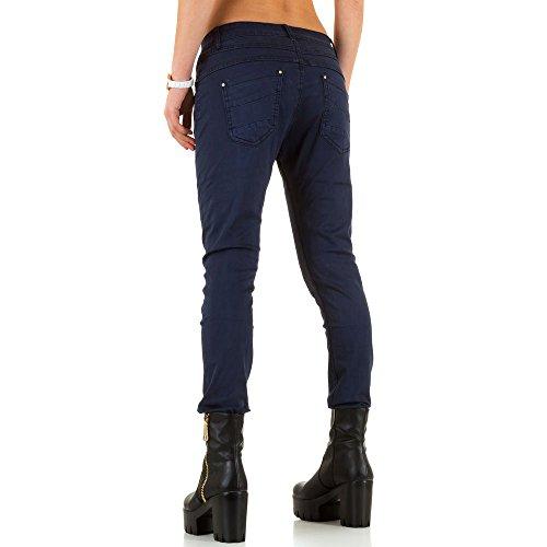 Used Look Boyfriend Jeans Für Damen bei Ital-Design Blau