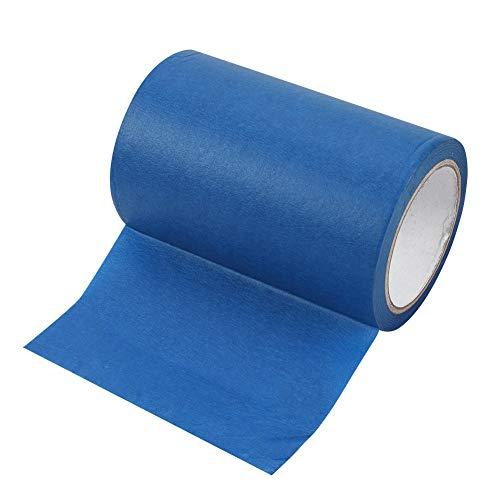 160mmx30m blaues Klebeband,3D Drucker Blaues Malerband Klebeband Kreppband Abdeckband,Tragbar Abdeckpapier Painters Tape Klebrige Malerband Klebeband für Makerbot 3D Drucker