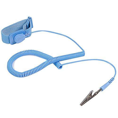 StarTech.com ESD Antistatikband mit Erdungskabel (Antistatik Erdungsarmband, Anti-Statik Armband)