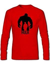 T Shirt - Full Sleeve Round Neck Avengers Hulk Design Graphics Printed 100% Cotton T Shirt - Avengers Hulk Design...