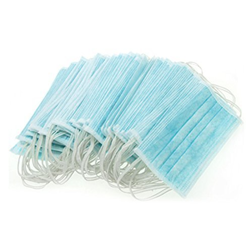 50 Disposable Face Masks for Dentists, Surgeries, Vets, Nail Salons and Pollution Protectors