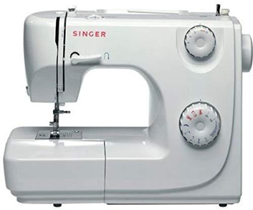 Singer 8280 - Máquina de coser automática, Paso 4, Variable, Giratorio, Blanco