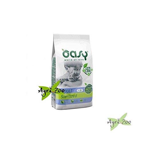 Oasy - Crocchette (diversi gusti) 7,5 kg [GATTO] (2 sacchi spedizione 3 euro) - Sterlized