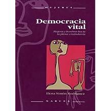 Democracia vital: Mujeres y hombres hacia la plena ciudadanía