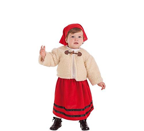 Zzcostumes Kostüm der Hirtin mit Mantel für ()