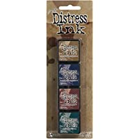 Ranger Distress Tinta Kit 12, Plástico,, 10x3x3 cm