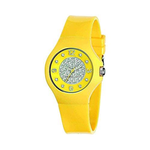 Sector - R0151114505 - Colours - Montre Femme - Quartz Analogique - Cadran Jaune - Bracelet Caoutchouc Jaune